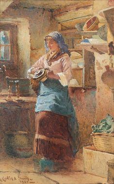 Английский художник Carlton Alfred Smith (1853-1946)