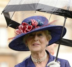Princess Alexandra, June 3, 2014 in Rachel Trevor Morgan | Royal Hats
