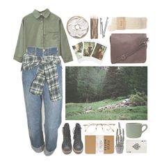 A fashion look from June 2016 by feltfox featuring Faith Connexion, Levi's, Nana', Maison Margiela, Persol, Nearly Natural, canvas, BOBBY, art, nature and arthoe