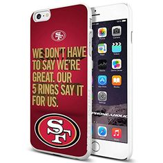 American Football NFL SF Sanfran cisco 49ers , , Cool iPhone 6 Plus (6+ , 5.5 Inch) Smartphone Case Cover Collector iphone TPU Rubber Case White [By PhoneAholic] Phoneaholic http://www.amazon.com/dp/B00XQKMOUA/ref=cm_sw_r_pi_dp_scLwvb0XEYP03