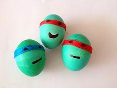 Ninja turtle eggs !