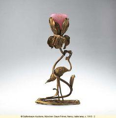 Table lamp. Antonin (1864-1930) and Auguste (1853-1909) Daum