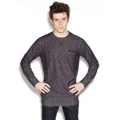 The Hive - Grand Jumper - dark grey blouse for men