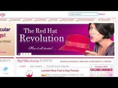 Red Hat Society Website Tutorial