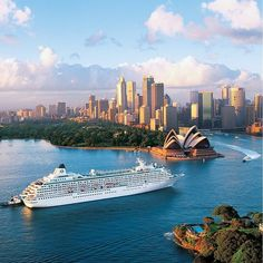 "Cruise Sydney to Bali. The luxurious Crystal Cruises has an unbelievable 12 day cruise from Sydney AU to Bali Indonesia in February 2016. We are able to offer customers complimentary ammentities on board this cruise. Please email travel@luxwt.com for more information. ""Dream Big Eat Well & Travel On"" by luxuryworldtraveler"