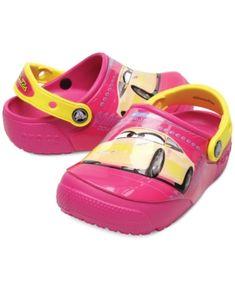 7956b8022e6fd Crocs Fun Lab Lights Cars Clogs