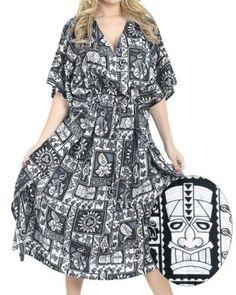 900104b0ac531 Plus Size Smooth Likre Dress Tropical Women Beach Coverup Nightgown Lounge  Caftan BlackSPRING Summer 2017