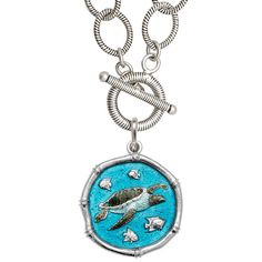 guy harvey necklace & its teal!
