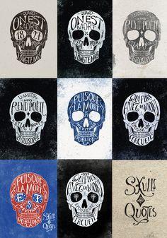 Skull Poster Art