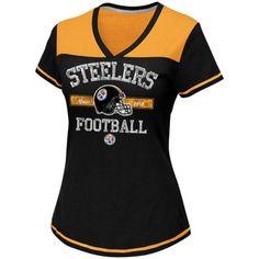 Men's Pittsburgh Steelers '47 Brand Black Till Dawn Tank