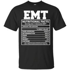 Hi everybody!   EMT Nutritional Facts T-Shirts Funny Gifts https://lunartee.com/product/emt-nutritional-facts-t-shirts-funny-gifts/  #EMTNutritionalFactsTShirtsFunnyGifts  #EMTShirts #Nutritional #FactsGifts #T #ShirtsFunnyGifts #Funny #Gifts #