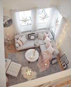 29 Brilliant Solution Small Apartment Living Room Decor Ideas And Remodel Rustic Living Room Furniture, Living Room Decor Cozy, Simple Living Room, Living Room Windows, Living Room Sofa, Sofa Furniture, Home Living Room, Apartment Living, Interior Design Living Room