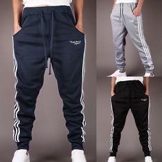 Summer Mens Youth Boy Casual Jogger Sportwear Baggy Harem Pants Slacks Trousers #Unbranded #CasualPants