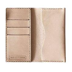 Bas & Lokes Handmade Leather iPhone Wallet
