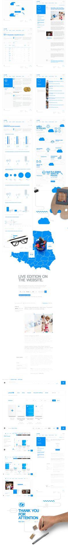 Unicef - Dzieci w Polsce on Web Design Served
