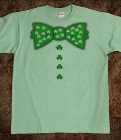 DIY shirt - BOW TIE!! OMG LOVE!!!