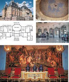 Chateau Vaux Le Vicomte intertior - Google Search