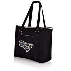 Los Angeles Rams Tahoe Beach Bag w/Digital Print - Black