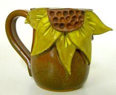 Sunflower Mug by mudworks on Etsy, $36.00