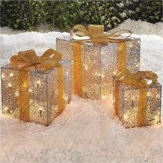 551455 - Set of 3 Crystal Splendor Gift Boxes
