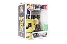 POP! Games: Five Nights At Freddy's - Golden Freddy