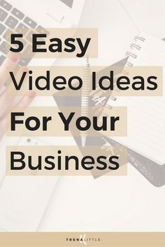 Wondering how to make videos for your business and easy video ideas to create? Heres how easy video marketing for small business can be! Business Video, Business Tips, Online Business, Small Business Marketing, Content Marketing, Affiliate Marketing, Internet Marketing, Media Marketing, Digital Marketing