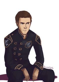 Chaol WestfallOur dear scowling captain of the guard.