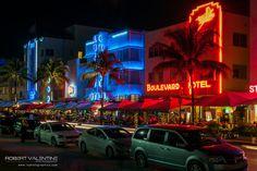 Ocean Drive, South Beach Miami 2015 South Beach Miami, Ocean Drive, Neon Signs