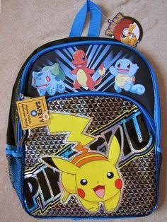 ac2f8d7f7b5e Pokemon Lunch Box - Backpack - Back To School Kit Pokemon Lunch Box