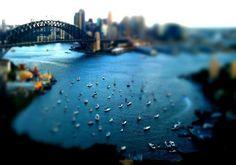 tilt shift//sydney harbour, australia I LOVE THIS Sydney Australia, Australia Travel, The Places Youll Go, Places To See, Tilt Shift Photos, Tilt Shift Photography, Places Of Interest, Landscape Photographers, Beautiful Landscapes