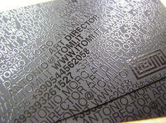 50 Designs de Cartes de Visites de Directeurs Artistiques, Photographes, Webdesigners - graphisme