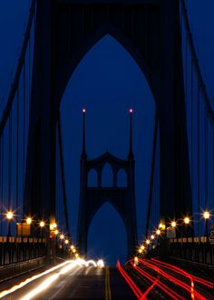 7c42e4a5b3d Cool photo of the St. Johns Bridge from one of our new books about Oregon