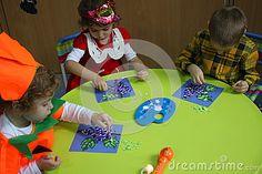 Painting in kindergarten editorial stock photo. Image of activity - 83689958 In Kindergarten, Editorial, Stock Photos, Activities, Children, Painting, Image, Young Children, Boys