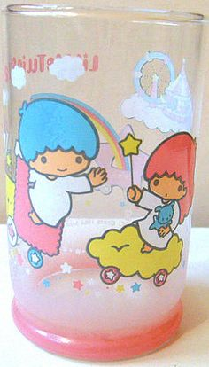 【1984】Glass ★Little Twin Stars★ I've never had this one, but I think it's cute.