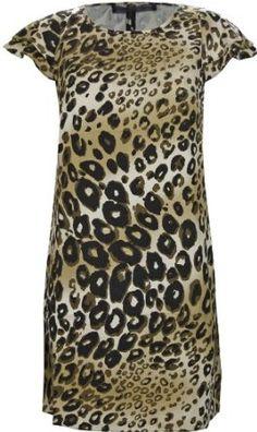 Guess Solenge Leopard Print Dress Guess