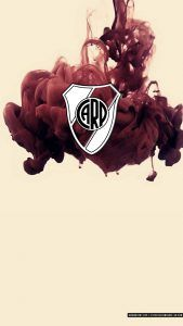[DESCARGA] Fondo de Pantalla Celular River Plate  Escudo River Plate  Tinta Roja