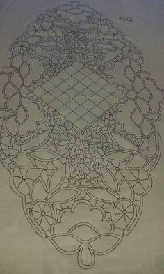 Best 12 – Page 377106168795945305 – SkillOfKing.Com Crewel Embroidery, Embroidery Patterns, Filet Crochet, Crochet Lace, Lace Patterns, Crochet Patterns, Romanian Lace, Russian Crochet, Lacemaking