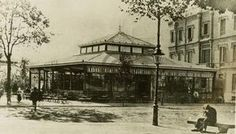 Gran Café Siglo XIX, La Pajarera , inaugurada en 1888, en Plaça Catalunya.- LA BARCELONA D'ABANS, D'AVUI I DE SEMPRE