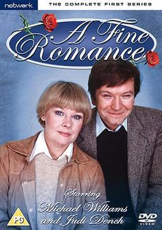 """""""A fine romance"""" Judi Dench stars with her husband, Michael Williams, It was very funny! Free on netflix"""