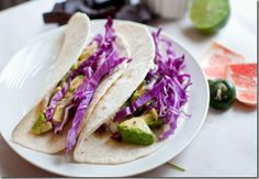 Citrus Fish Tacos with Grapefruit and Avocado Salsa