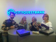 Квест Ограбление банка от Cityquest (Волгоград)