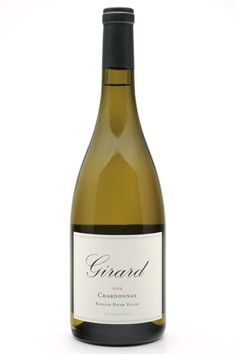 Girard Chardonnay 2009 (California - 2009):  The French oak aging offers up wonderful aromas of citrus, tropical fruit, vanilla and crème brûlée. On the palate, there's a rich, creamy texture from sur lie aging that's balanced with surprising acidity that enables the wine to pair very well with pork, chicken, fish and salads or to enjoy on its own.
