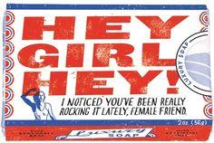 Hey Girl Hey Luxury Soap Bar from AlwaysFits.com #heygirl #heygirlhey #soap