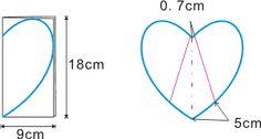 Voici le modèle d'une manique en forme de coeur à faire soi-même que j'ai trouvé ici , avec une petite traduction et un tutoriel en image pour la réaliser ... Coupez 20 cm * 28 cm 2 fois en tissu et une fois en ouatine , superposer et piquez , ensuite...