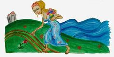 ΝΗΠΙΟΧΩΡΑ : Ο μύθος της αρπαγής Περσεφόνης Greek Gods And Goddesses, Mythical Creatures, Mythology, Fairy Tales, Disney Characters, Fictional Characters, Cartoon, Disney Princess, Outdoor Decor