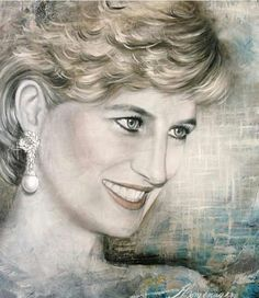 Princess Diana drawing
