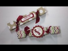 How to Make a Treat box using Stampin' Up!'s Envelope Punch Board - YouTube