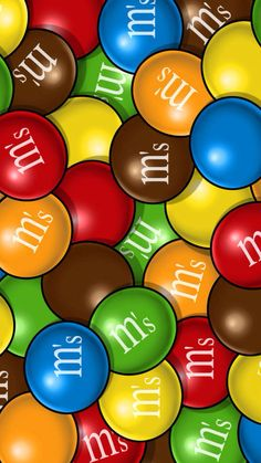 Ms #colorful #candy #chocolate #sweets