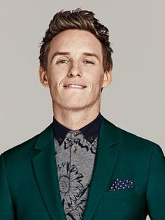 Eddie Redmayne's ability to be goofy reminds me of Miles.