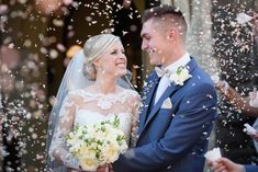Nia in her Jo gown on the 26th September 2015.... Real Huw Rees Bride.